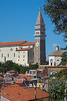 St George Church. Piran , Slovenia
