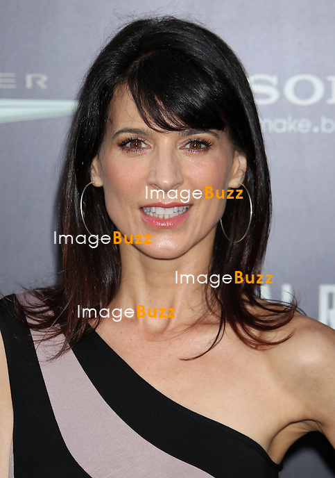 "Perrey Reeves at the "" Total Recall "" movie premiere in Hollywood..Los Angeles, August 1, 2012."