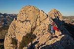 Escalada en la Cresta del Bernia,Alicante