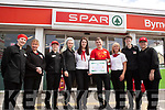 The staff of Byrnes Spar Oakpark received the High Standards of Hygiene and Food Safety Award. <br /> L to r: Stacey Scanlon, Mary Lynch, Ceri O'Leary, Violetta Sik, Lisa Coffey, Ryan Dowling, Debbie O'Halloran, Gillian Daly and Geana Devane.