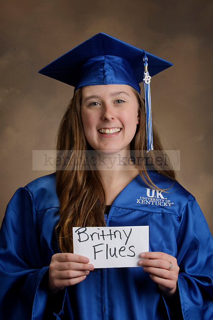 Flues, Brittny photographed during the Feb/Mar, 2013, Grad Salute in Lexington, Ky.