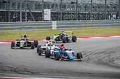 F4 US Championship<br /> Rounds 16-17-18<br /> Circuit of The Americas, Austin, TX USA<br /> Saturday 16 September 2017<br /> 41, Braden Eves 8, Kyle Kirkwood 24, Benjamin Pedersen<br /> World Copyright: Keith Daniel Rizzo<br /> LAT Images