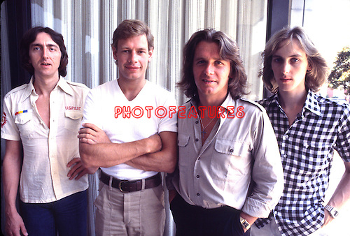 UK - Alan Holdsworth, Bill Bruford, Hohn Wetton and Eddie Jobson<br />