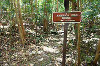 Trail to America Hill Ruins.St. John .U.S. Virgin Islands