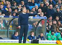 Blackburn Rovers manager Tony Mowbray shouts instructions to his team from the technical area<br /> <br /> Photographer Alex Dodd/CameraSport<br /> <br /> The EFL Sky Bet Championship - Leeds United v Blackburn Rovers - Wednesday 26th December 2018 - Elland Road - Leeds<br /> <br /> World Copyright &copy; 2018 CameraSport. All rights reserved. 43 Linden Ave. Countesthorpe. Leicester. England. LE8 5PG - Tel: +44 (0) 116 277 4147 - admin@camerasport.com - www.camerasport.com