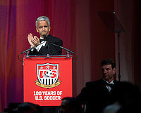 Sunil Gulati. US Soccer held their Centennial Gala at the National Building Museum in Washington DC.