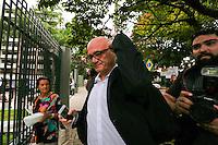 CURITIBA, PR,03.02.2017 – LAVA JATO –  Branislav Kontic, um dos assistentes do ex-ministro Antonio Palocci (PT), deixa a sede da justiça Federal em Curitiba na tarde desta sexta-feira (03), após participar da audiencia no caso Lava-Jato.  ( Foto: Paulo Lisboa/Brazil Photo Press)