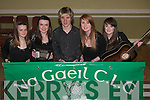 SCOR NA NOG: The Na Gaeil Scor Na nOg team who will competed in the Munster Finals in Mallow on 31st of January l-r: Clodagh Foley, Amy Stone, Eoghain Sheehy, Anna Hayes and Hilary White.
