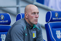 Aston Villa goalkeeping coach Gary Walsh ahead of the Sky Bet Championship match between Cardiff City and Aston Villa at the Cardiff City Stadium, Cardiff, Wales on 12 August 2017. Photo by Mark  Hawkins / PRiME Media Images.