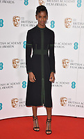 Letitia Wright at the EE British Academy Film Awards (BAFTAs) Nominations Announcement, BAFTA, Piccadilly, London, England, UK, on Tuesday 09 January 2018.<br /> CAP/CAN<br /> &copy;CAN/Capital Pictures