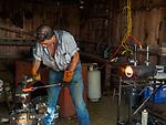 Blacksmith demo, Friday at the 80th Amador County Fair, Plymouth, Calif.<br /> .<br /> .<br /> .<br /> .<br /> #AmadorCountyFair, #1SmallCountyFair, #PlymouthCalifornia, #TourAmador, #VisitAmador