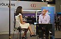 MIAMI BEACH, FL - APRIL 24: Founder / Founding Executive Director The Fastrack Foundation / Singularity University Salim Ismail speaking with Global Markets Reporter CNBC Seema Mody at eMerge Americas 2018 -day2 at Miami Beach Convention Center on April 24, 2018 in Miami Beach, Florida.  ( Photo by Johnny Louis / jlnphotography.com )