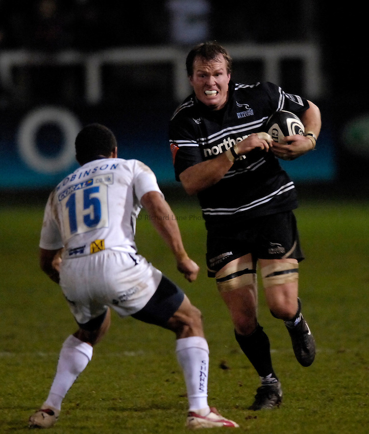 Photo: Jed Wee..Newcastle Falcons v Sale Sharks. Guinness Premiership. 26/12/2006...Newcastle's Russell Winter.