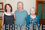 Theresa and John Horan and Eileen Reidy, all from Currans Farranfore, enjoying the Set Dancing Ceili in Darby O'Gills in Killarney last Friday night.