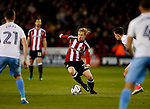 Mark Duffy of Sheffield Utd during the English League One match at Bramall Lane Stadium, Sheffield. Picture date: April 5th 2017. Pic credit should read: Simon Bellis/Sportimage