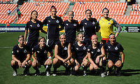 Washington Freedom starting XI.  Washington Freedom defeated Skyblue FC 2-1 at RFK Stadium, Saturday May 23, 2009.