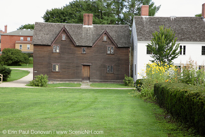 Strawbery Banke during the summer months. Located  in Portsmouth, New Hampshire USA...