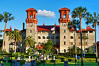 The Lightner Museum and St. Augustine City Hall in historic downtown St.Augustine, Florida