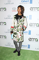 BURBANK, CA - OCTOBER 22: Jaden Smith attends the Environmental Media Association 26th Annual EMA Awards Presented By Toyota, Lexus And Calvert at Warner Bros. Studios on October 22, 2016 in Burbank, California (Credit: Parisa Afsahi/MediaPunch).