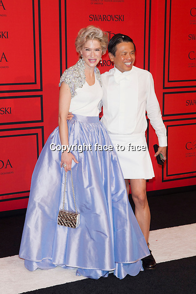 NEW YORK, NY - JUNE 3: Julie Macklowe, Zang Toi at the 2013 CFDA Fashion Awards at Lincoln Center's Alice Tully Hall in New York City. June 3, 2013. <br />