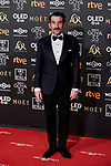 Luis Zahera attends to 33rd Goya Awards at Fibes - Conference and Exhibition  in Seville, Spain. February 02, 2019. (ALTERPHOTOS/A. Perez Meca)