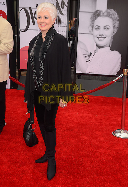 10 April 2014 - Hollywood, California - Shirley Jones. Arrivals for the world premiere of the restoration of &quot;Oklahoma&quot; held at the TCL Chinese Theatre IMAX in Hollywood, Ca.  <br /> CAP/ADM/BT<br /> &copy;Birdie Thompson/AdMedia/Capital Pictures
