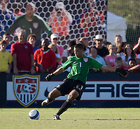USA goalkeeper Earl Edwards (1). 2007 Nike Friendlies, which are taking place from Dec. 6-9 at IMG Academies in Bradenton, Fla.