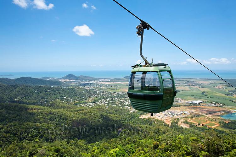 Skyrail Rainforest Cableway.  Cairns, Queensland, Australia