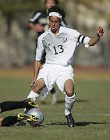 2005 Season - Calen Carr of University of California, Berkeley.