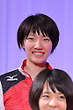 Yuki Ishii (JPN), <br /> JULY 20, 2016 - Volleyball : <br /> Japan women's national volleyball team send-off party <br /> for the Rio 2016 Olympic Games in Tokyo, Japan. <br /> (Photo by AFLO SPORT)