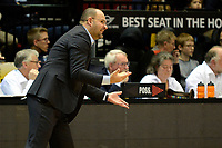 GRONINGEN -  Basketbal, Donar - New Heroes Den Bosch, Martiniplaza, Dutch Basketbal League, seizoen 2018-2019,  26-01-2019,Den Bosch coach Ivica Skelin