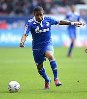 FUSSBALL   1. BUNDESLIGA  SAISON 2011/2012   32. Spieltag FC Augsburg - FC Schalke 04         22.04.2012 Jefferson Farfan (FC Schalke 04)