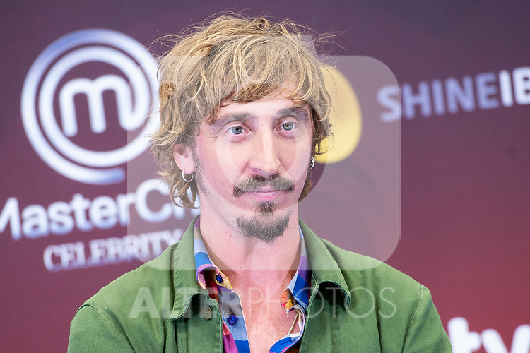 Ivan Massague attends to presentation of 'Master Chef Celebrity' during FestVal in Vitoria, Spain. September 06, 2018.. (ALTERPHOTOS/Borja B.Hojas)
