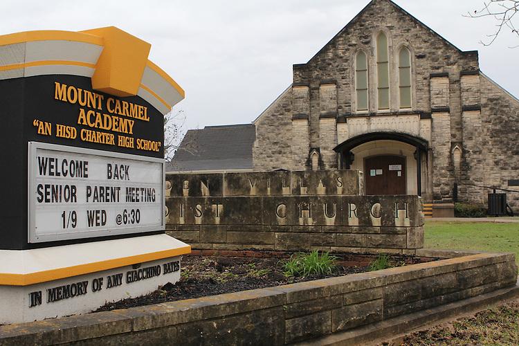 Mount Carmel Academy.