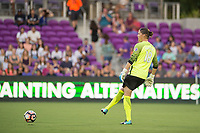 Orlando, FL - Saturday July 15, 2017: Nicole Barnhart during a regular season National Women's Soccer League (NWSL) match between the Orlando Pride and FC Kansas City at Orlando City Stadium.