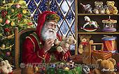 Interlitho, CHRISTMAS SANTA, SNOWMAN, WEIHNACHTSMÄNNER, SCHNEEMÄNNER, PAPÁ NOEL, MUÑECOS DE NIEVE, paintings+++++,santa, workshop,KL6086,#X# ,Marcello