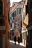 ITALY, Venice. Taking a stroll in the Castello district of Venice. Castello is the largest of the six sestieri of Venice.