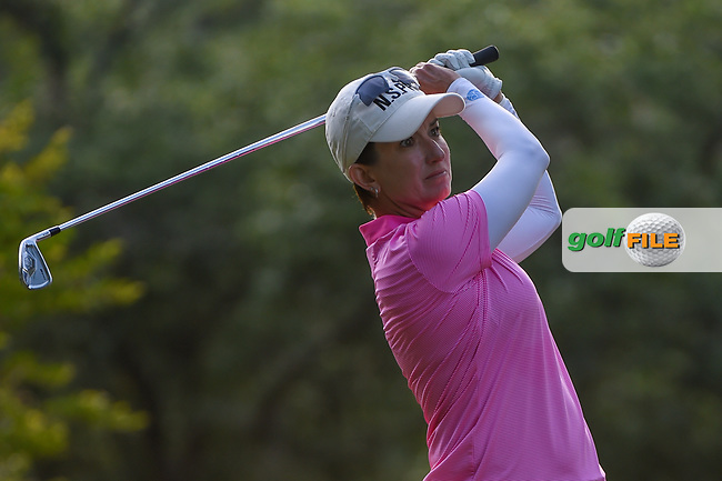 Karrie Webb (AUS) watches her tee shot on 11 during round 2 of the 2019 US Women's Open, Charleston Country Club, Charleston, South Carolina,  USA. 5/31/2019.<br /> Picture: Golffile | Ken Murray<br /> <br /> All photo usage must carry mandatory copyright credit (© Golffile | Ken Murray)