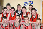 The Castleisland team the competed in the u16 County Community Games in Castleisland Community Centre last Saturday front row l-r Declan Cahill, Denis Linehan, John Kirwan, Tomas Hickey, back row Philip OConnor, David OLeary, Stephan Wrenn, Stephan Barry Coach, Maurice Lynch, Cian Fitzgerald, Tadgh OConnell.