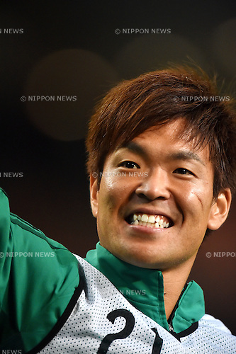 Shusaku Nishikawa (JPN),<br /> JUNE 3, 2016 - Football / Soccer :<br /> Shusaku Nishikawa of Japan after the Kirin Cup Soccer 2016 match between Japan 7-2 Bulgaria at Toyota Stadium in Aichi, Japan. (Photo by AFLO)