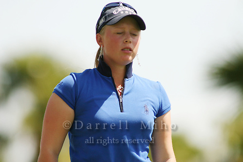 Apr. 2, 2006; Rancho Mirage, CA, USA; Morgan Pressel during the final round of the Kraft Nabisco Championship at Mission Hills Country Club. ..Mandatory Photo Credit: Darrell Miho.Copyright © 2006 Darrell Miho .