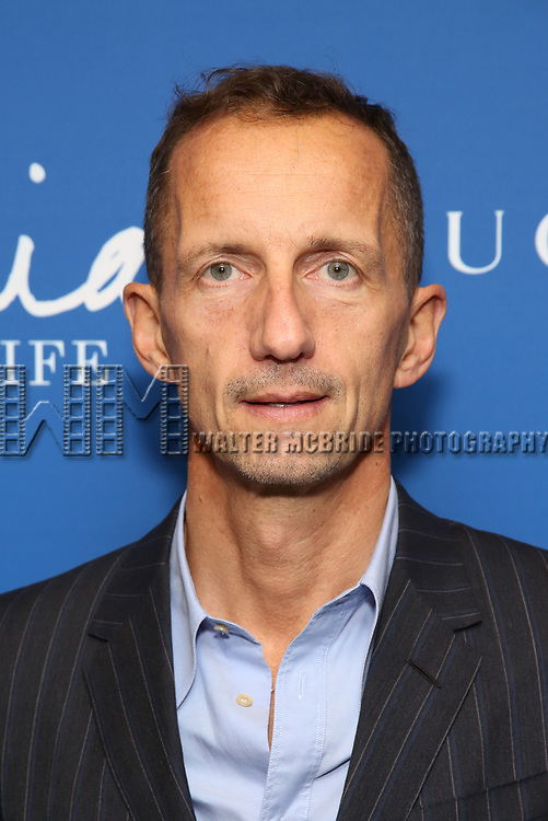 "Robert Triefus attends the Opening Night Performance of ""Gloria: A Life"" on October 18, 2018 at the Daryl Roth Theatre in New York City."