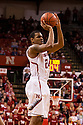 December 3, 2012: Dylan Talley (24) of the Nebraska Cornhuskers makes a three point shot against the USC Trojans during the first half Nebraska defeated USC 63 to 51. Nebraska defeated USC 63 to 51.