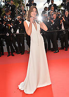 "Carla Bruni at the gala screening for ""Sink or Swim"" at the 71st Festival de Cannes, Cannes, France 13 May 2018<br /> Picture: Paul Smith/Featureflash/SilverHub 0208 004 5359 sales@silverhubmedia.com"