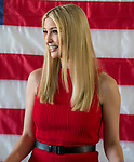 Ivanka Trump meet with Senator Dean Heller campaign volunteers at the RNC field office in Reno, Thursday, Nov. 1, 2018.