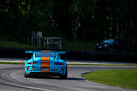Porsche GT3 Cup Challenge USA<br /> Road America<br /> Road America, Elkhart Lake, WI USA<br /> Sunday 6 August 2017<br /> 43, Mark Kvamme, GT3P, USA, M, 2017 Porsche 991<br /> World Copyright: Jake Galstad<br /> LAT Images