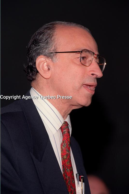oncologist  Joseph Ayoub, October 16, 1999