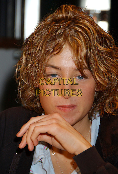 KALAN PORTER.JUNO Fanfare 2006 held at Pavilion 21 at the Seawall, Halifax, Nova Scotia, Canada..April 1st, 2006.Photo: Laura Farr/AdMedia/Capital Pictures.Ref: LF/ADM.headshot portrait.www.capitalpictures.com.sales@capitalpictures.com.© Capital Pictures.