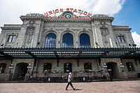 Union Station, in Downtown Denver, Colorado, Saturday, April 18, 2015. <br /> <br /> Photo by Matt Nager