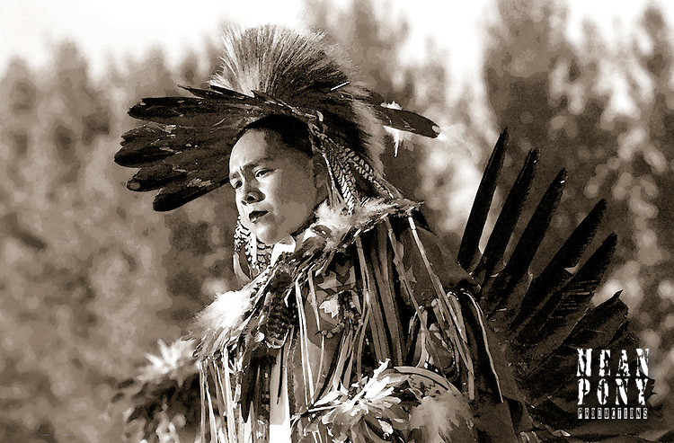 """Traditional Dancer"" Heber Valley Pow Wow from the Dance Series"